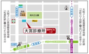 名刺裏地図